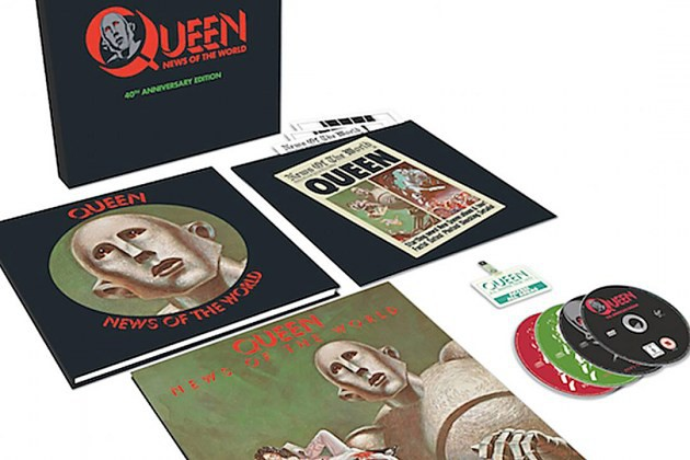 Queen, detalles de la reedición de News of the World