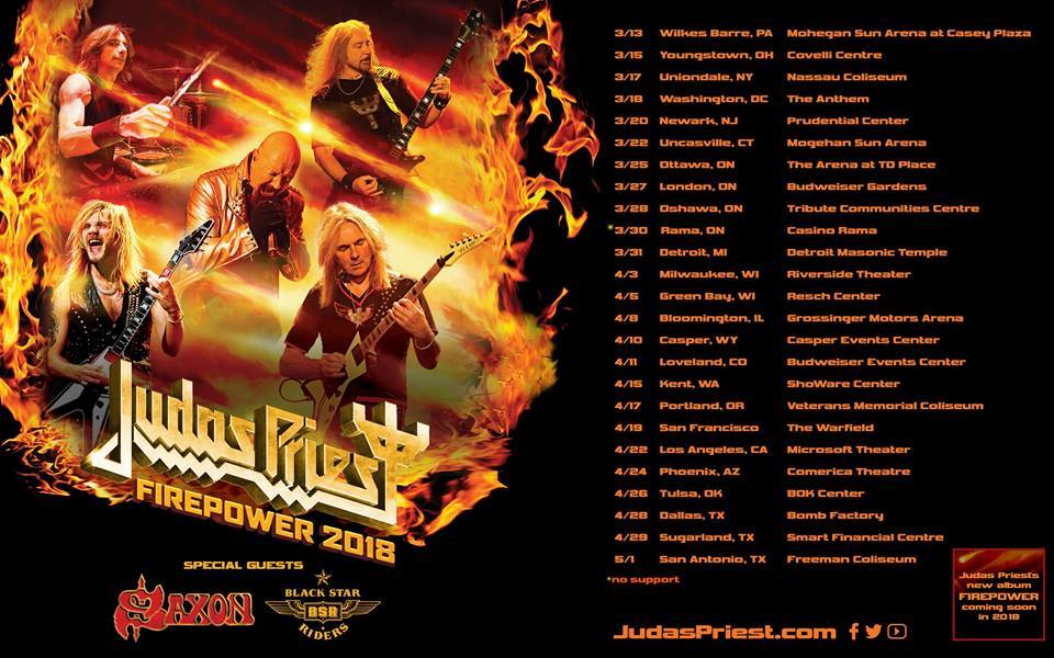 "Judas Priest, analizamos ""Lighting Strike"" su nuevo single"