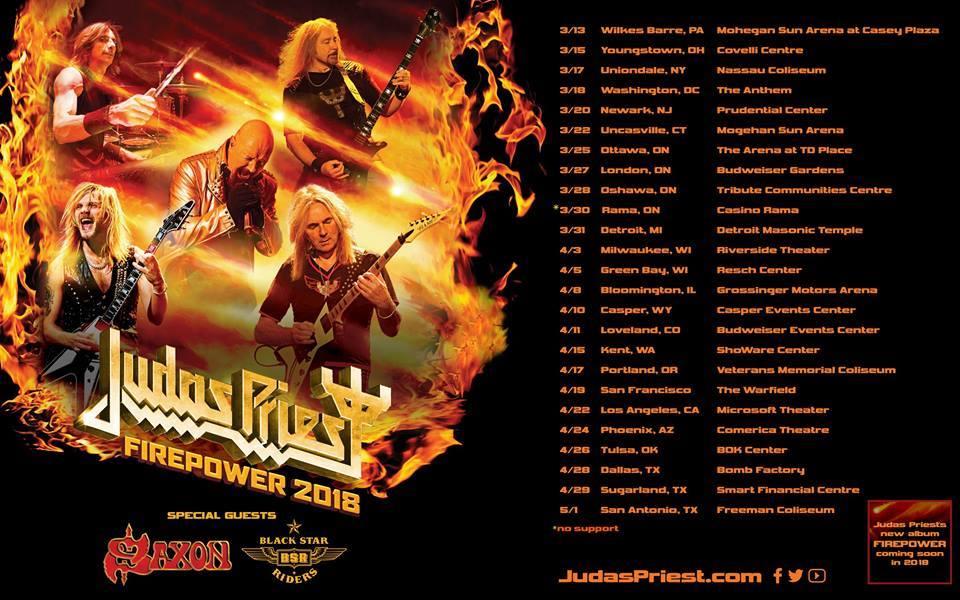 """Judas Priest, analizamos """"Lighting Strike"""" su nuevo single"""