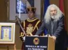 Los Suaves reciben la medalla de oro de la Diputación de Ourense