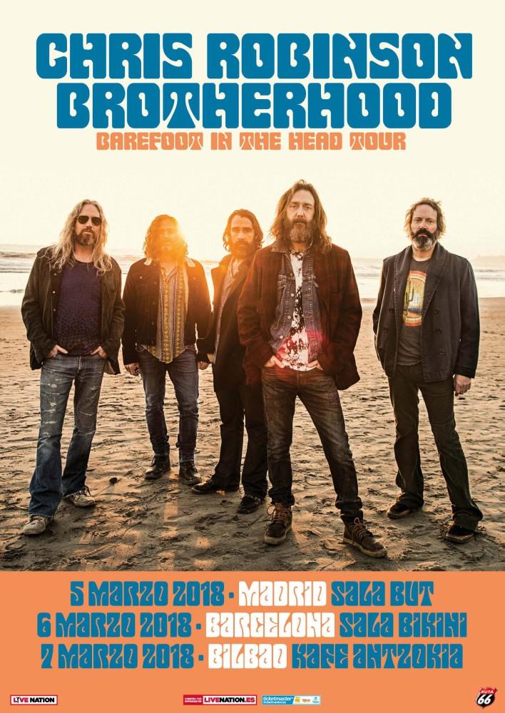 Chris Robinson Brotherhood, gira por España en marzo de 2018