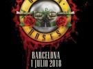 Guns n´Roses, más de 22.750 entradas vendidas para su concierto en Barcelona