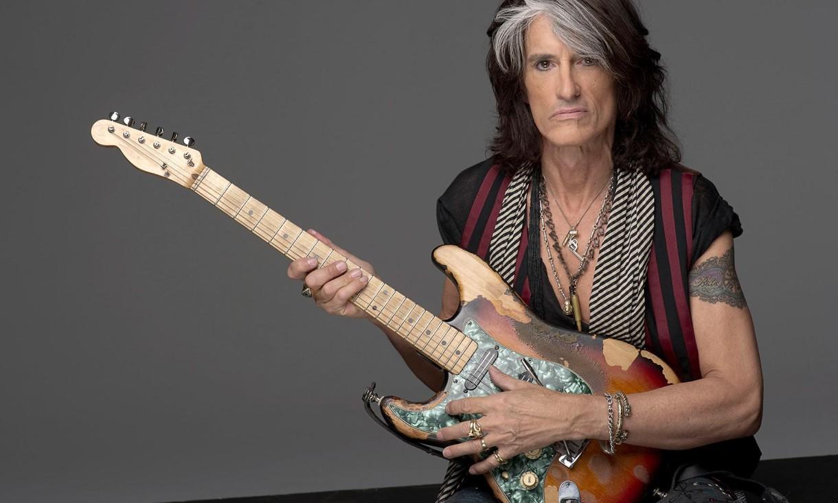 """Joe Perry: """"Me gustaría grabar nueva música con Aerosmith"""""""