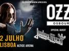 Ozzy y Judas Priest, excursiones desde España para su concierto en Lisboa (2 de julio)