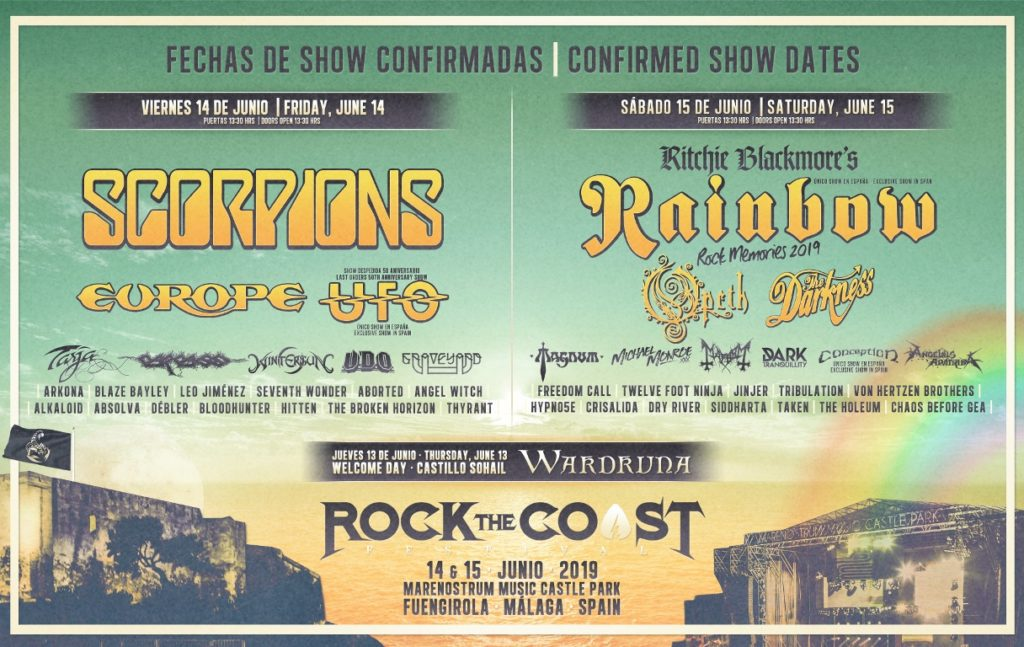 Rockthecoast2019