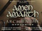 Amon Amarth, Arch Enemy e Hypocrisy, gira por España en noviembre