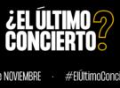 Manifiesto de #Elúltimoconcierto a favor del futuro de la música en directo en España