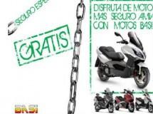Compra un scooter en Moto Basi y tendrás el seguro a terceros gratis
