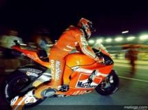 Stoner también domina el warm up de MotoGP en Qatar