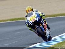 Rossi logra el mejor tiempo de la 1ª sesión libre en Motegi
