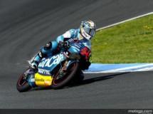 Simón el mejor del warm up 125cc del GP de España en Jerez