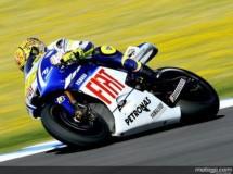 Valentino Rossi vuelve a la cabeza de MotoGP en Jerez tras el warm up