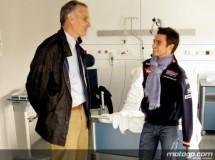 Dani Pedrosa ha recibido el alta médica y ya está en casa