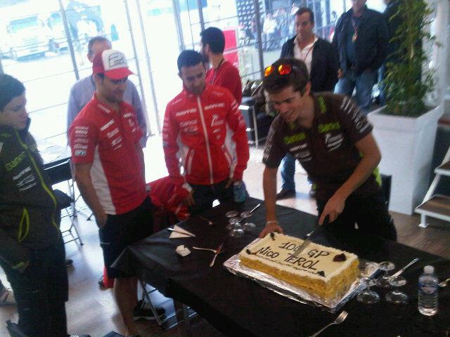 Plus Moto felicita a Nico Terol por sus 100 Grandes Premios