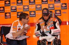 Declaraciones de los pilotos de Repsol Honda tras la pole en Le Mans