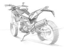 Husqvarna prepara una moto de calle con motor BMW