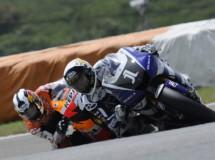 Jorge Lorenzo sigue su racha de podios en Estoril, mientras Spies KO