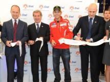 Rossi confirma el pique entre Stoner y él en el test de Estoril 2011