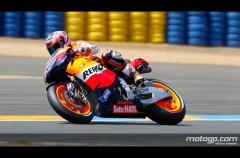 Casey Stoner no da posibilidades y domina la FP3 de MotoGP en Le Mans