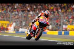 Casey Stoner inalcanzable es el poleman de MotoGP en Le Mans
