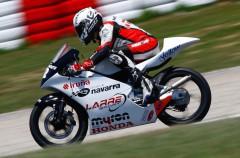 Dani Ruiz consigue un buen resultado en 125GP CEV en Catalunya