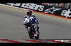 Casey Stoner es el poleman de MotoGP en Silverstone con SIC 2º y Lorenzo 3º