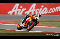 Marc Márquez logra el mejor crono de la FP3 de Moto2 en Silverstone
