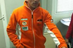 Adrien Chareyre logra el mejor crono del GP Andorra de Supermotard