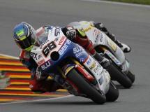 El equipo Blusens-STX con cara y cruz en Moto2 Sachsenring