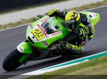 Andrea Iannone contento con su debut en el test de MotoGP en Mugello