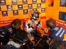 Dani Pedrosa satisfecho con su podio en Laguna Seca y ahora a descansar