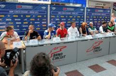 Evento y rueda de prensa del Mundial de SBK en Brno
