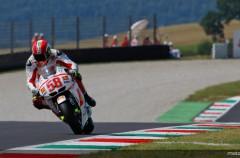Marco Simoncelli el más rápido del Warm Up de MotoGP en Mugello