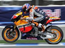 Casey Stoner se lesionó en Assen y ha corrido tocado en MotoGP