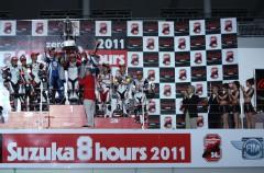 El equipo FCC TSR Honda gana las 8 Horas de Suzuka 2011