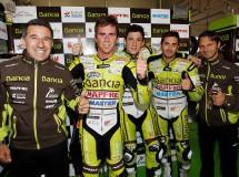 El Bankia Aspar Team de 125cc al máximo en Brno, con Terol en pole