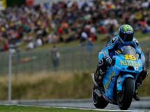 Los pilotos del Rizla Suzuki MotoGP no han tenido un buen día en Brno