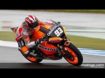 Marc Márquez es el más rápido de la FP3 de Moto2