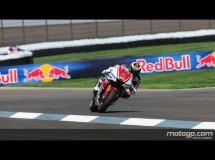 Casey Stoner invencible en la carrera de MotoGP en Indy con Pedrosa 2º y Spies 3º
