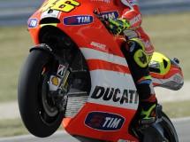 Valentino Rossi y Hayden saldrán 11º y 15º en Misano