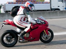 Ducati 1199 Panigale, pillada de nuevo