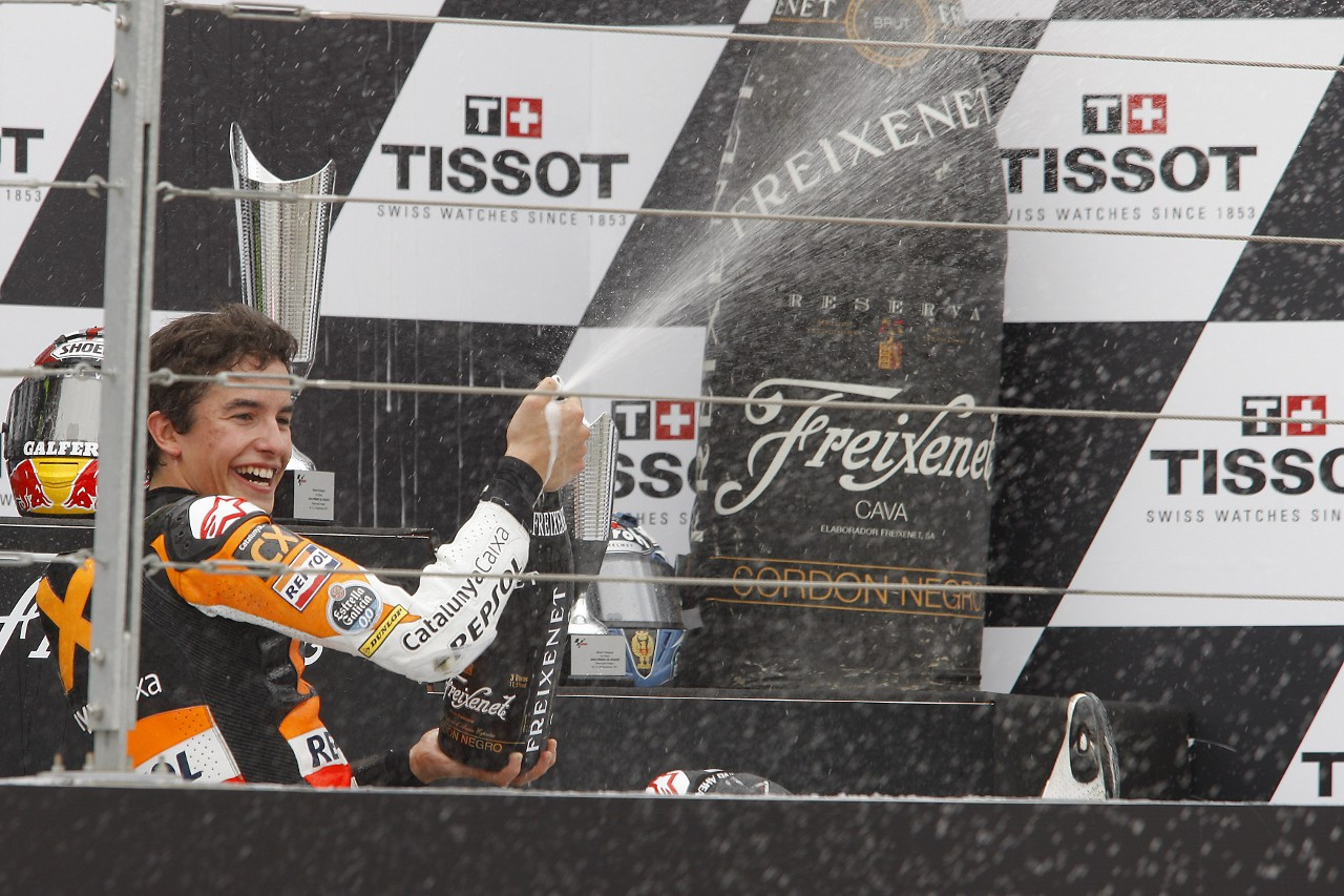 Márquez victoria y a 6 puntos resumen de Motorland