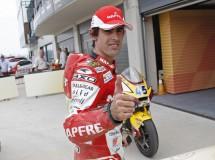 Julián Simón y su fichaje por el Blusens BQR Moto2 para 2012