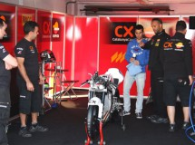 Las Honda Moto3 aterrizan en el Circuito de Albacete