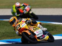 Moncayo es quinto en 125cc Phillip Island