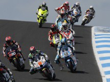 Noyes logra una buena remontada Moto2 Australia