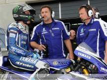 El equipo Yamaha muy cerca en Phillip Island