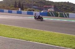 Día 1 del test Moto2, Ducati y CRT en Jerez