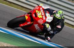 Elías y Terol trabajando al máximo con sus moto2 en Jerez