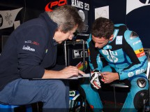 Pons, P.Espargaró y Rabat buenos cronos Moto2 en Jerez